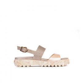 Dámské sandály s vroubkovanou podrážkou Baldinini