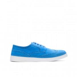 Pánské světlé modré brogues