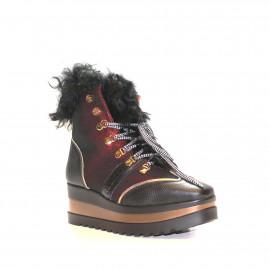 Černá kotníčková obuv Baldinini