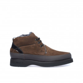 Hnědé šněrovací boty Baldinini