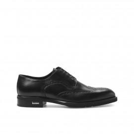 Černé šněrovací boty Baldinini
